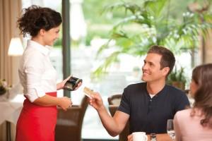 סליקה במסו אשראי משולחן המסעדה